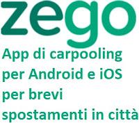 Zego, l'App di carpooling dell'azienda Stc: cos'è, come funziona
