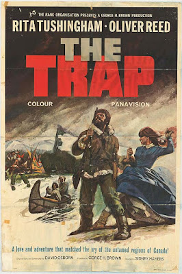 Original poster for The Trap (1966)