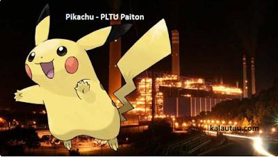 kalautau.com - Pokemon Legendaris Pikachu - PLTU Paiton