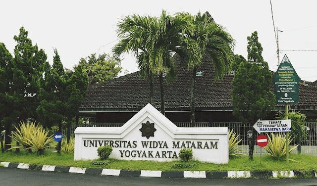 Biaya Kuliah Universitas Widya Mataram Yogyakarta Tahun 2019-2020