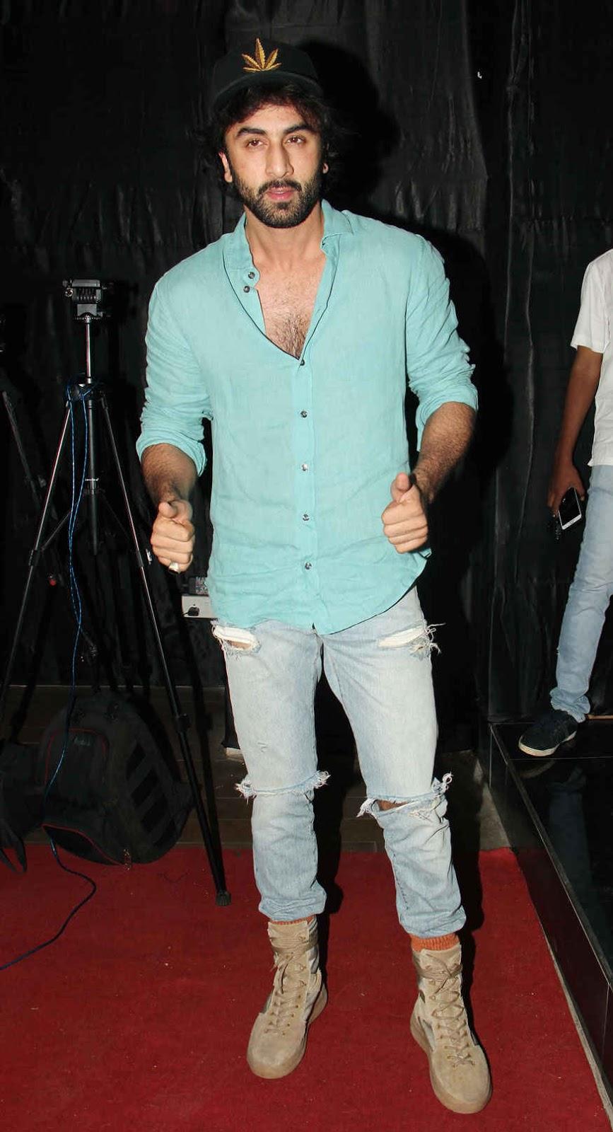 Ranbir Kapoor at Special Screening of Jagga Jasoos at Lightbox