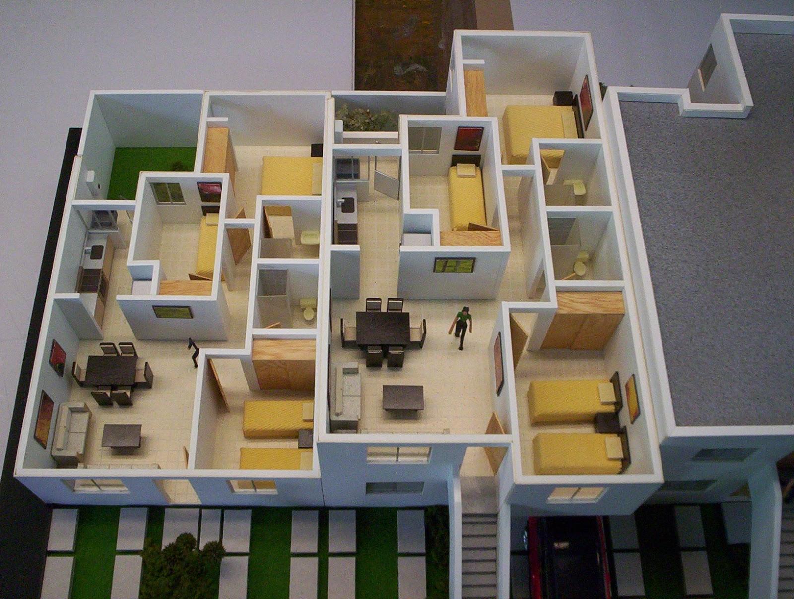 Maquetas De Casas Por Dentro Zion Star