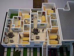 maquetas casas por dentro arquitectura