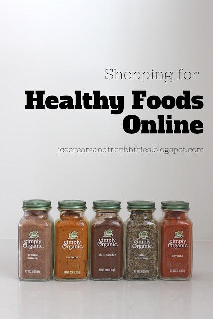 Healthy food online shop