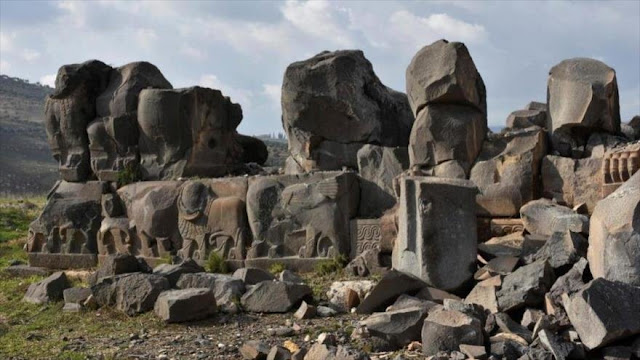 Siria denuncia papel de Occidente en robo de piezas arqueológicas