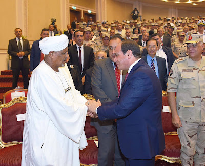 Ahmed Idris and El-SIsi