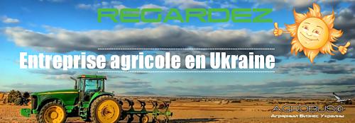 Entreprise agricole en Ukraine AgroBus ©