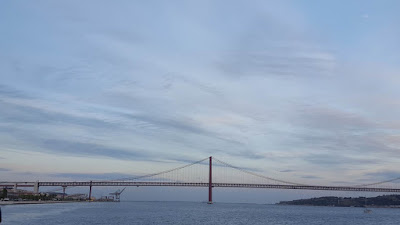 (Almost) Wordless Wednesday - across the river, Tagus, Lisbon, Portugal