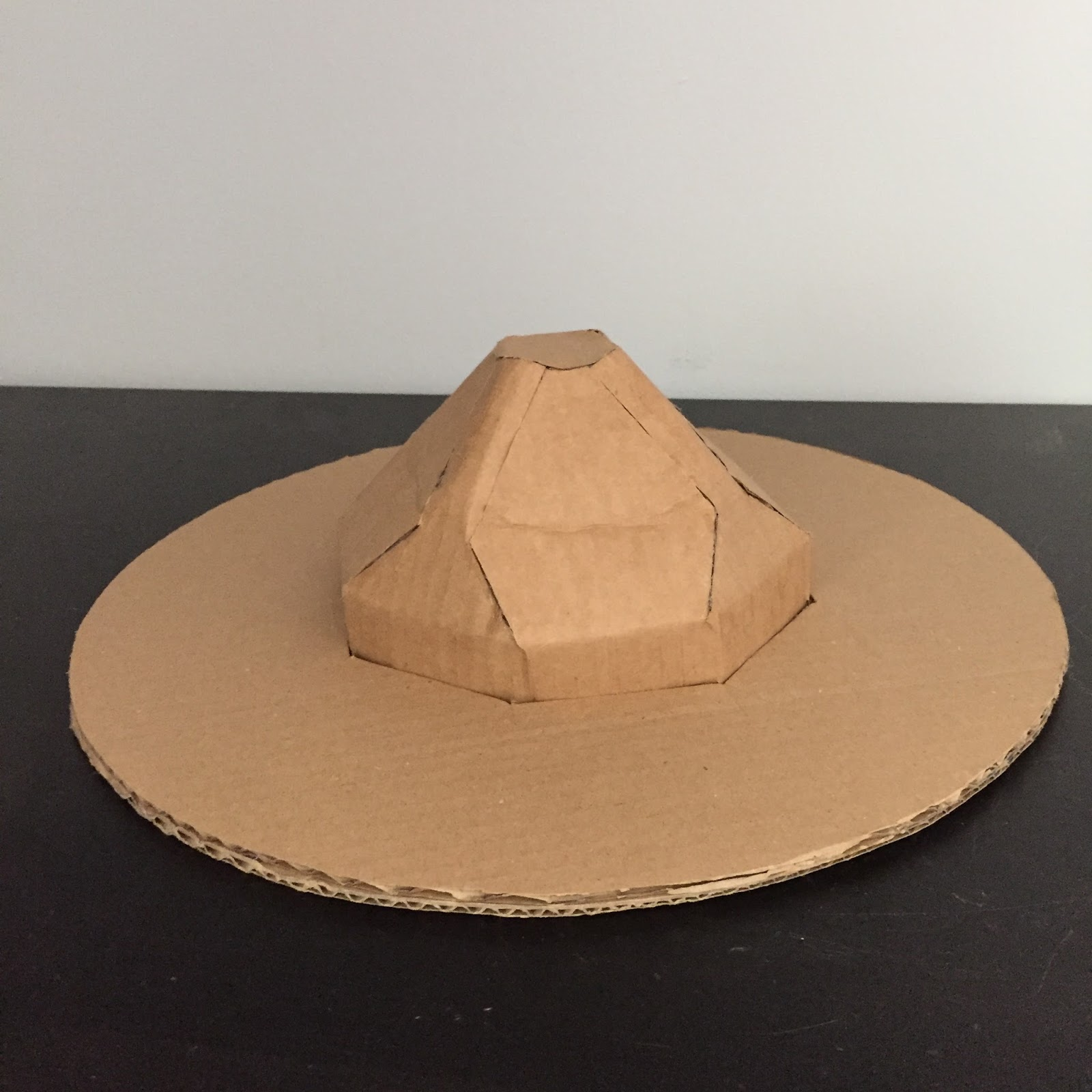 how to make a mountie hat