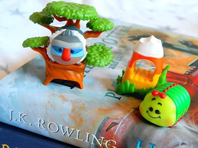 Disney Tsum Tsum Mini Figures: Heimlich A Bugs Life, Rafiki The Lion King