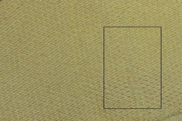 Drop stitch in fabric