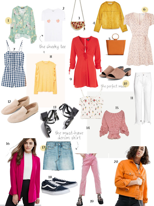 Colourful Spring Styling