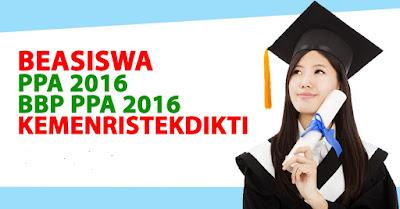 Penjelasan Beasiswa PPA dan BBP 2016 Ditiadakan