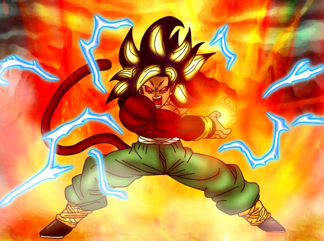 Dragon Ball Z Goku Super Saiyan God Kamehameha Wallpaper