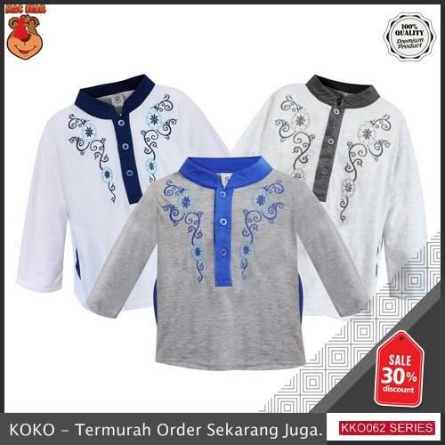 KKO62 MKB434 Baju Junior Atasan Koko Anak Hamid Motif 3 BMGShop