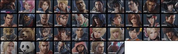 Tekken 7 characters roster