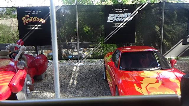 visite du parc Universal Studios Hollywood