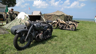 D-Day Reenactment at Conneaut Ohio, German Vehicles
