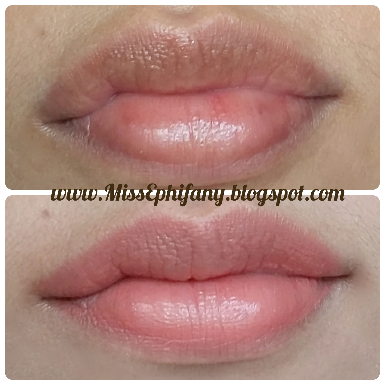 Hasil Warna Beautylabo Natural Blonde: Wardah Exclusive Lipstick #41 Charming Red REVIEW
