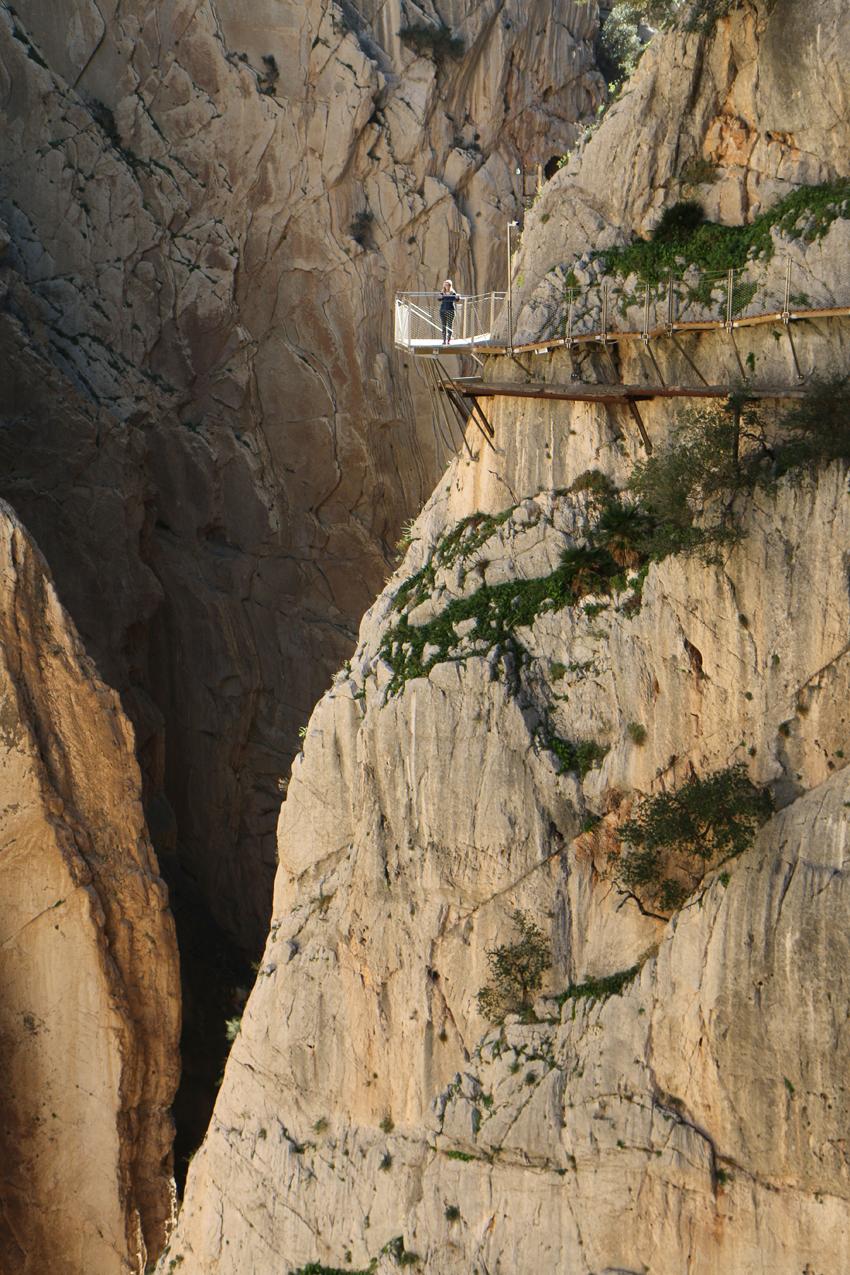 Caminito del Rey gefährlichstenr Weg der Welt