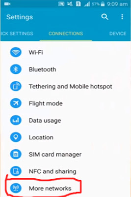 android internet settings for jazz