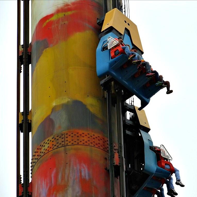 Subida dos carinhos na Big Tower, Beto Carrero World