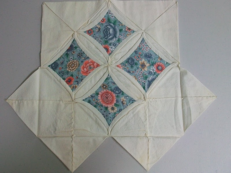 Cheryl Lynch Quilts Cathedral Window Therapy