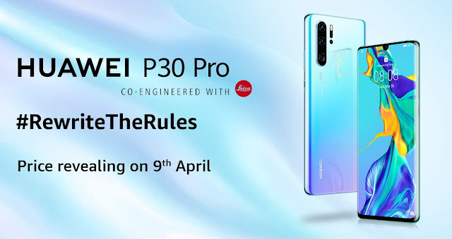 Huawei P30 Pro India launch set for April 9 on Amazon