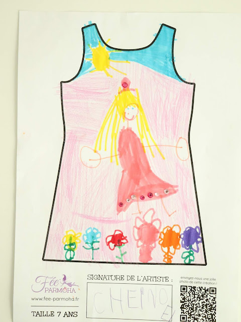 robe personnalisée fée parmôha