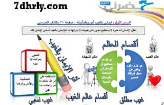 تشجيرات للفصل الأول للصف السابع أ. عثمان محمد