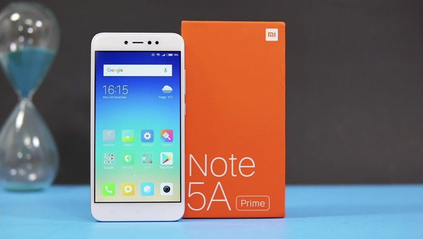 Xiaomi Redmi Note 5A Prime Price, Specifications and Features