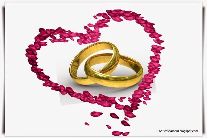 sms d 39 amour 2018 sms d 39 amour message texte pour carte de mariage. Black Bedroom Furniture Sets. Home Design Ideas