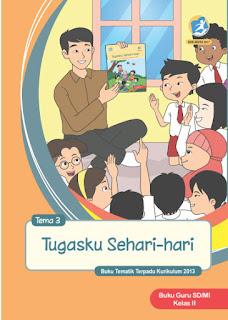 Tema 3 Tugasku Sehari-hari Buku Guru Kelas 2-II Kurikulum 2013 Revisi 2017