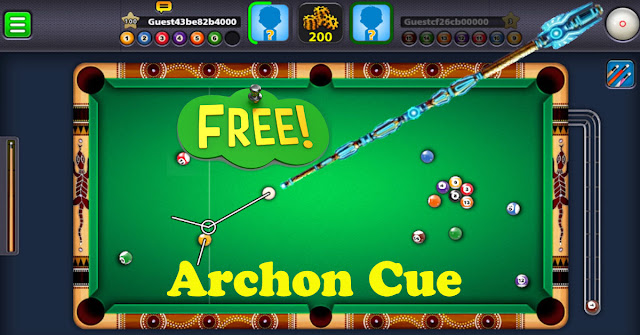 8 Ball Pool Mod Archon Cue