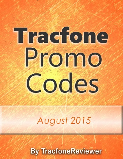 Tracfone Promo Codes for August 2015