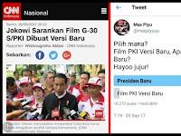 Warganet Lebih Milih Presiden Baru, Dibanding Film PKI Versi Baru