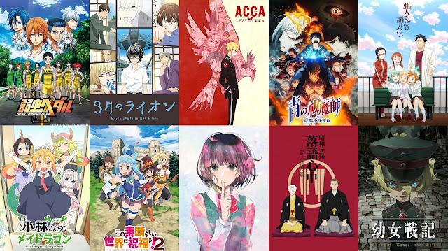 Anime Winter 2017 Sudah Pada Selesai Tayang Nah Oleh Karena Itu Di Sini Akan Kami Tampilkan Terbaik Dengan Rating Tinggi