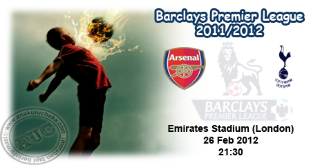 Arsenal%2Bvs%2BTT Arsenal vs Tottenham Hotspur | Barclays Premier League 2011/2012 | Live Results