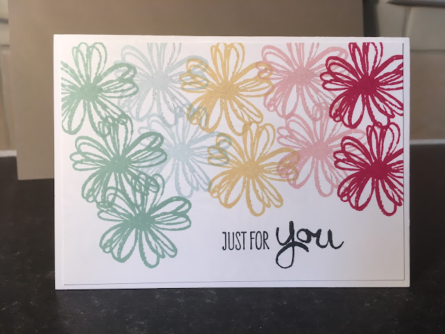Flower Shop stamp set, Stampin' Up!