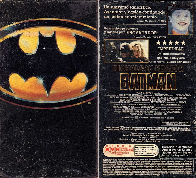 vhs batman tim burton