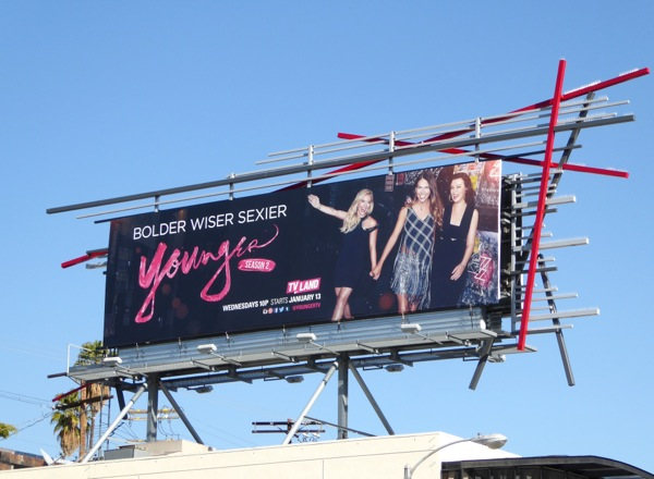 Younger season 2 TV Land billboard