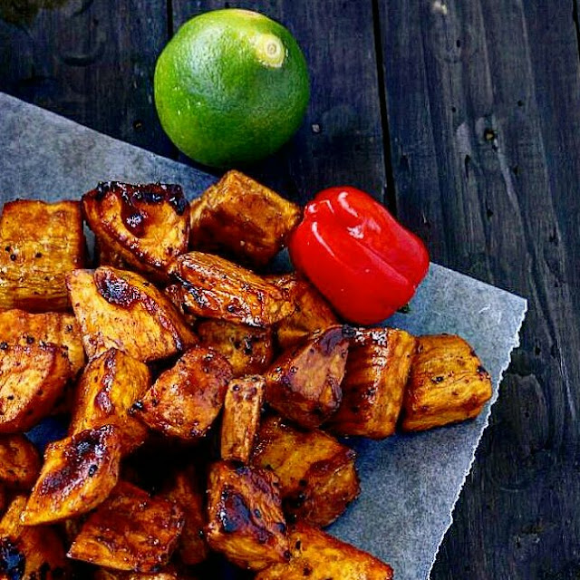 Honey cinnamon sweet potatoes are perfect for snacks or prepared as a side for your roasts.