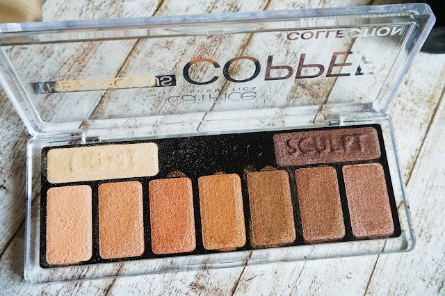 Catrice The Precious Copper Cellection Eyeshadow Palette in 010 Metallux