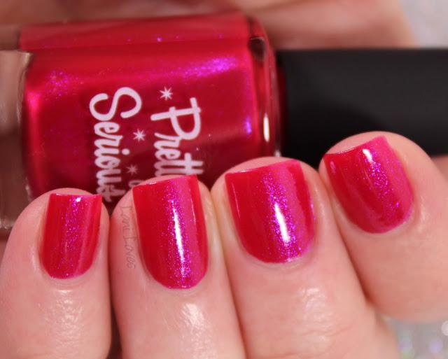Pretty Serious Destash nail polish swatches & review