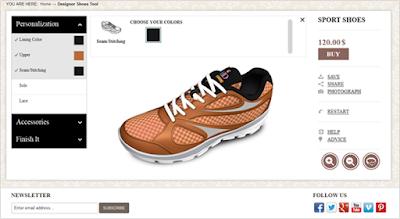 Sport Shoe Designing Software