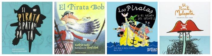 selección libros infantiles y cuentos sobre piratas