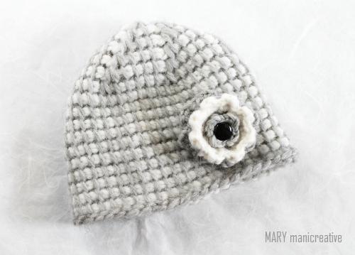 Mary Mani Creative Berretto E Uncinetto Tunisino