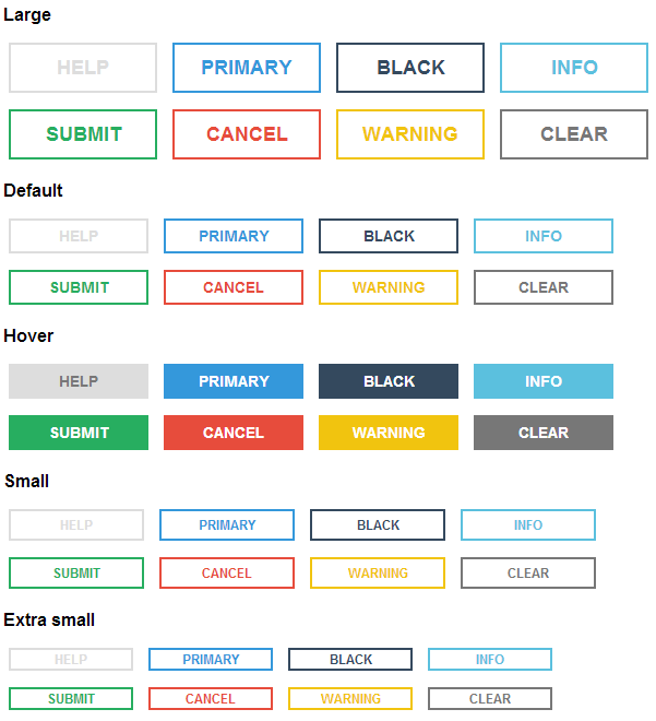Cool And Simple CSS Button Design