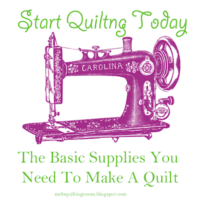 quilting tools and supplies to get started