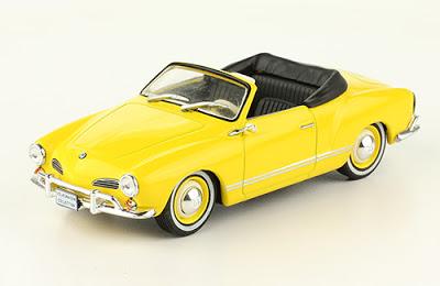 Volkswagen Karmann Ghia convertible 1960 autos a escala